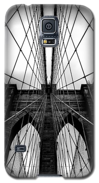 Skylines Galaxy S5 Cases - A Brooklyn Perspective Galaxy S5 Case by Az Jackson