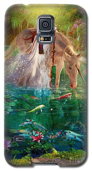 A Curious Introduction Galaxy S5 Case by Aimee Stewart