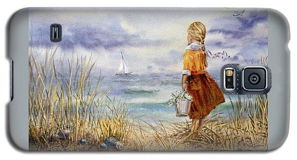 A Girl And The Ocean Galaxy S5 Case by Irina Sztukowski