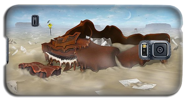 A Slow Death In Piano Valley - Panoramic Galaxy S5 Case by Mike McGlothlen