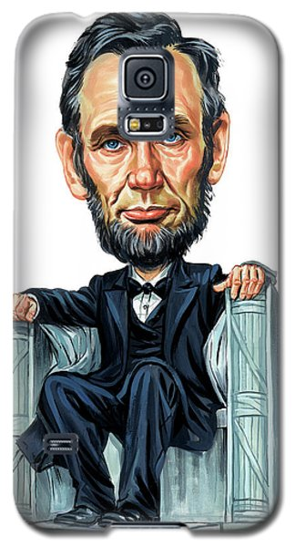 Abraham Lincoln Galaxy S5 Case by Art