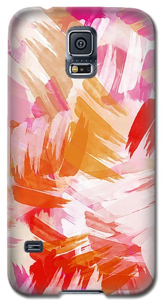 Abstract Paint Pattern Galaxy S5 Case by Christina Rollo