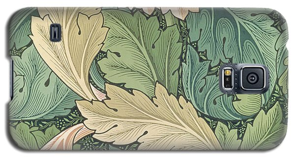 Tapestries - Textiles Galaxy S5 Cases - Acanthus wallpaper design Galaxy S5 Case by William Morris