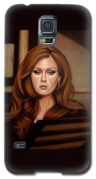 Adele Galaxy S5 Case by Paul Meijering