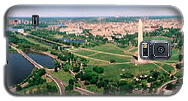 Aerial Washington Dc Usa Galaxy S5 Case by Panoramic Images