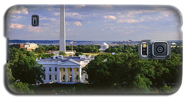 Aerial, White House, Washington Dc Galaxy S5 Case by Panoramic Images