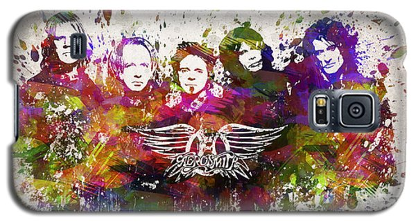 Aerosmith In Color Galaxy S5 Case by Aged Pixel