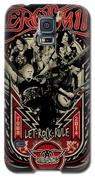 Aerosmith - Let Rock Rule World Tour Galaxy S5 Case by Epic Rights