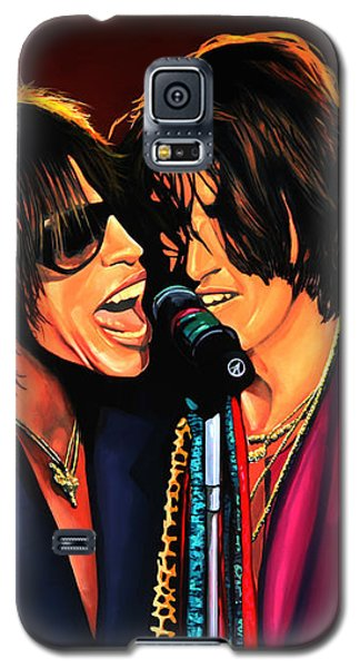 Aerosmith Toxic Twins Painting Galaxy S5 Case by Paul Meijering