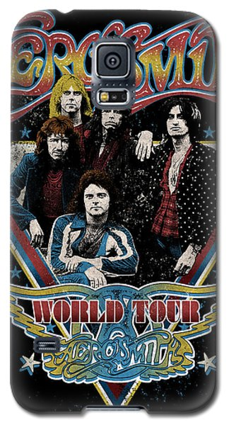 Aerosmith - World Tour 1977 Galaxy S5 Case by Epic Rights