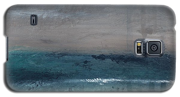 Abstract Galaxy S5 Cases - After The Storm- Abstract Beach Landscape Galaxy S5 Case by Linda Woods