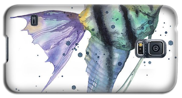 Alluring Angelfish Galaxy S5 Case by Alison Fennell