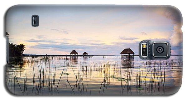 Water Galaxy S5 Cases - Amazing bay sunset Galaxy S5 Case by Yuri Santin