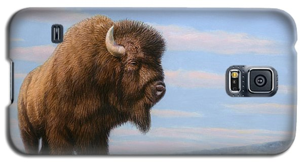 American Bison Galaxy S5 Case by James W Johnson
