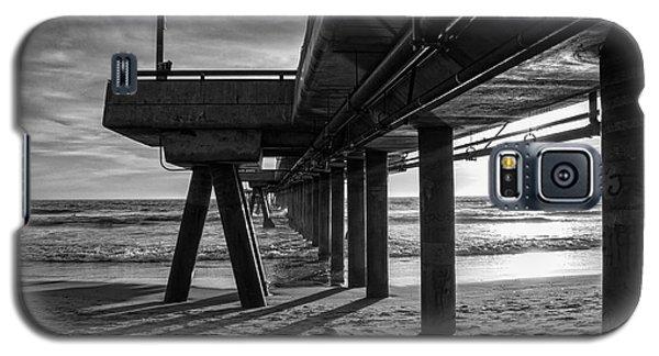 An Evening At Venice Beach Pier Galaxy S5 Case by Ana V Ramirez