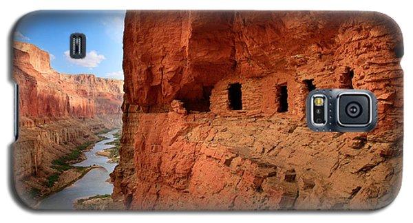 Anasazi Granaries Galaxy S5 Case by Inge Johnsson