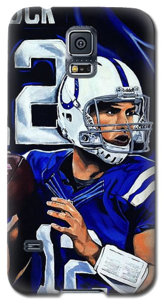 Andrew Luck Galaxy S5 Case by Chris Eckley