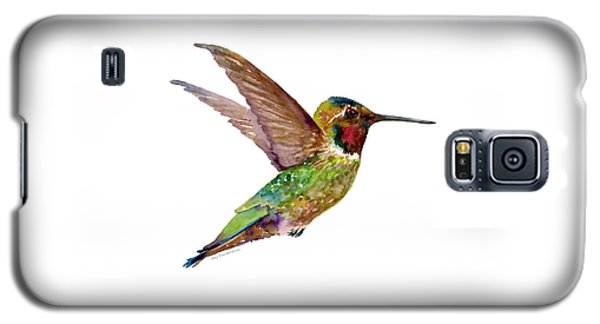 Anna Hummingbird Galaxy S5 Case by Amy Kirkpatrick