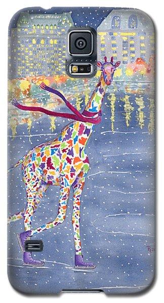 Skylines Galaxy S5 Cases - Annabelle on Ice Galaxy S5 Case by Rhonda Leonard