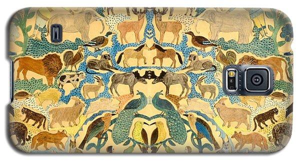 Antique Cutout Of Animals  Galaxy S5 Case by American School