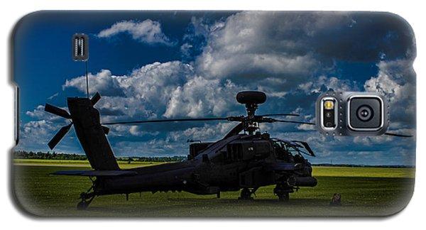 Apache Gun Ship Galaxy S5 Case by Martin Newman