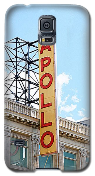 Apollo Theater Sign Galaxy S5 Case by Valentino Visentini