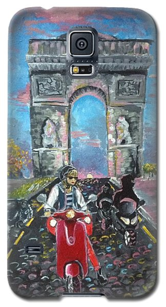 Arc De Triomphe Galaxy S5 Case by Alana Meyers