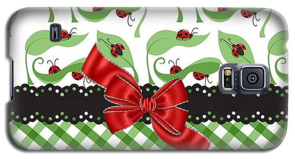 Asiatic Ladybugs  Galaxy S5 Case by Debra  Miller