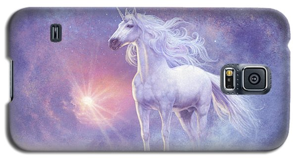 Astral Unicorn Galaxy S5 Case by Steve Read