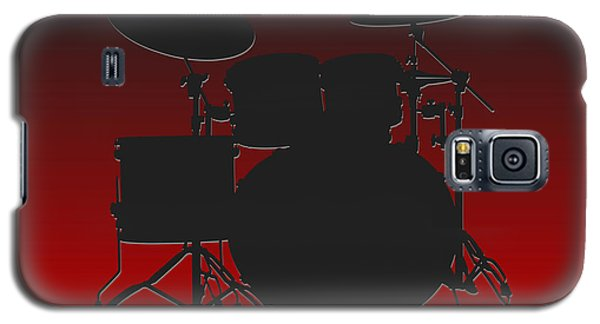 Atlanta Falcons Drum Set Galaxy S5 Case by Joe Hamilton