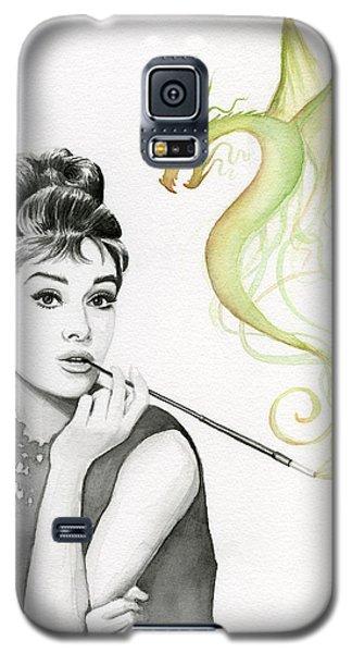 Audrey And Her Magic Dragon Galaxy S5 Case by Olga Shvartsur