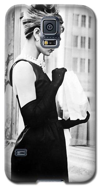 Audrey At Tiffanys Galaxy S5 Case by Georgia Fowler