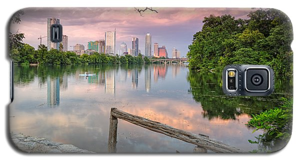 Austin Skyline From Lou Neff Point Galaxy S5 Case by Silvio Ligutti