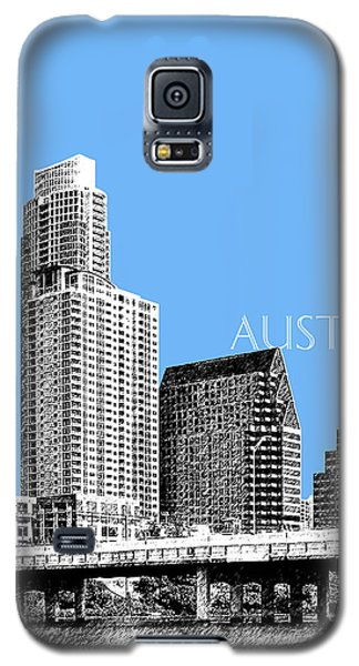 Austin Skyline - Sky Blue Galaxy S5 Case by DB Artist