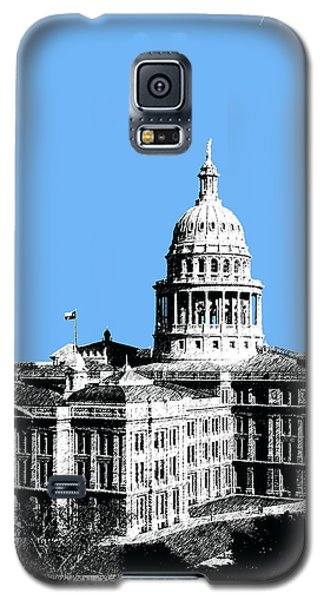 Austin Texas Capital - Sky Blue Galaxy S5 Case by DB Artist