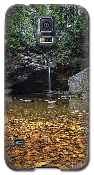 Autumn Falls Galaxy S5 Case by James Dean