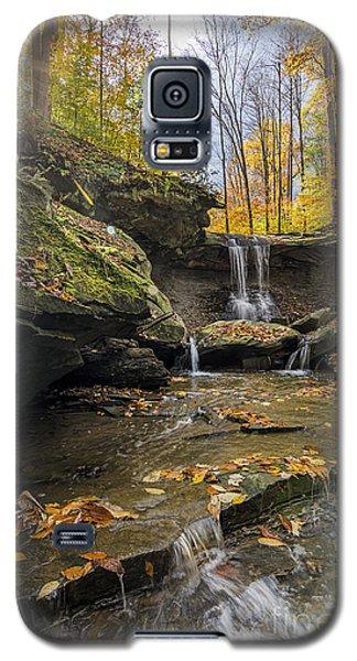 Autumn Flows Galaxy S5 Case by James Dean
