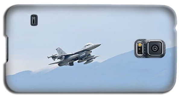 Aviano F16 Galaxy S5 Case by Staff Sgt Jessica Hines