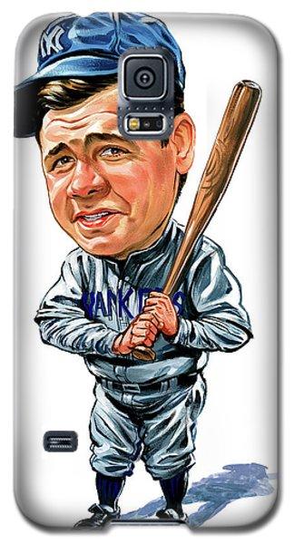 Babe Ruth Galaxy S5 Case by Art