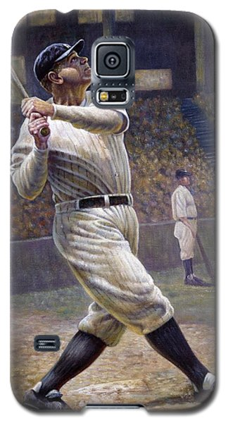 Babe Ruth Galaxy S5 Case by Gregory Perillo