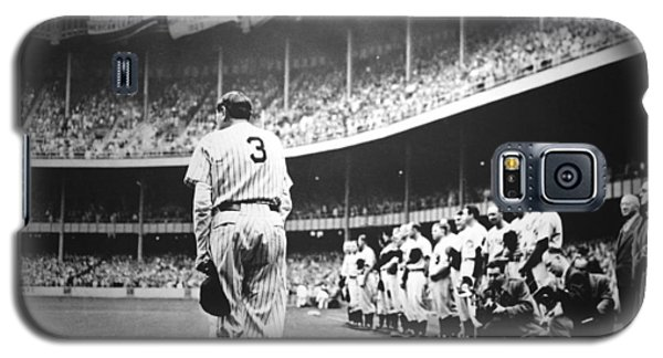 Babe Ruth Poster Galaxy S5 Case by Gianfranco Weiss