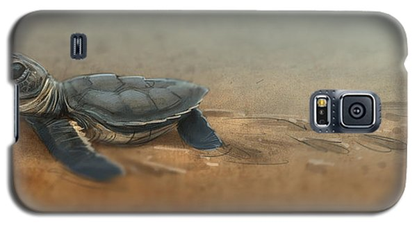 Baby Turtle Galaxy S5 Case by Aaron Blaise