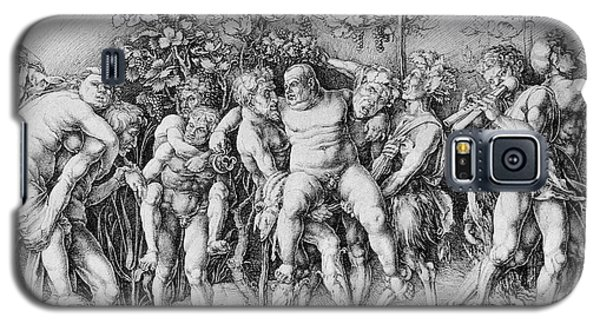 Bacchanal With Silenus - Albrecht Durer Galaxy S5 Case by Daniel Hagerman