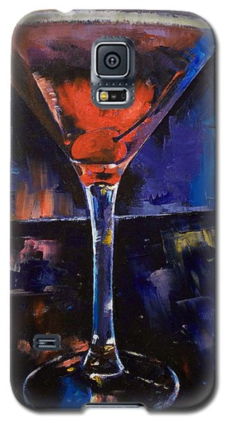 Backstage Martini Galaxy S5 Case by Michael Creese