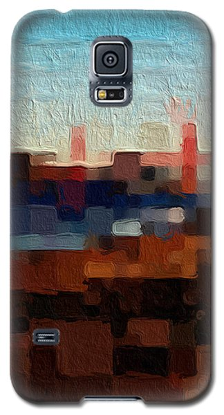 Baker Beach Galaxy S5 Case by Linda Woods