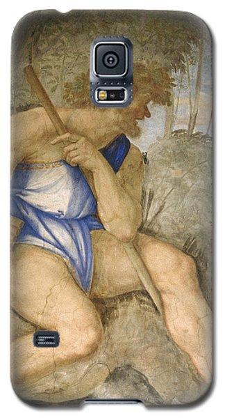 Baldassare Peruzzi 1481-1536. Italian Architect And Painter. Villa Farnesina. Polyphemus. Rome Galaxy S5 Case by Baldassarre Peruzzi