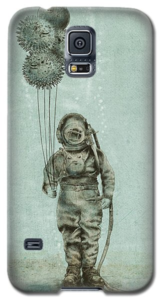 Balloon Fish Galaxy S5 Case by Eric Fan