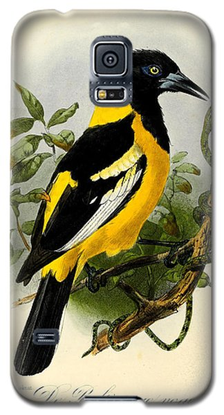 Baltimore Oriole Galaxy S5 Case by J G Keulemans