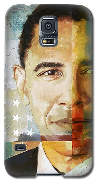 Barack Obama Galaxy S5 Case by Corporate Art Task Force