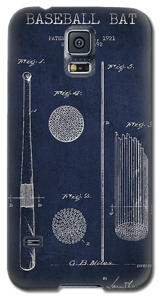 Baseball Bat Patent Drawing From 1921 Galaxy S5 Case by Aged Pixel
